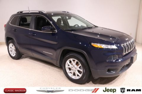Certified Pre-Owned 2016 Jeep Cherokee Latitude 4WD SUV