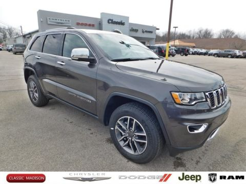New 2020 JEEP Grand Cherokee LIMITED 4X4 4x4 Sport Utility