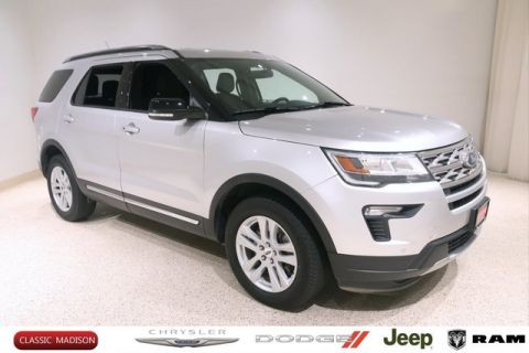 Pre-Owned 2018 Ford Explorer XLT 4WD SUV