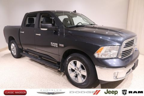 Certified Pre-Owned 2017 Ram Ram Pickup 1500 BIG HORN 4X4 CREW CA 4WD Pickup